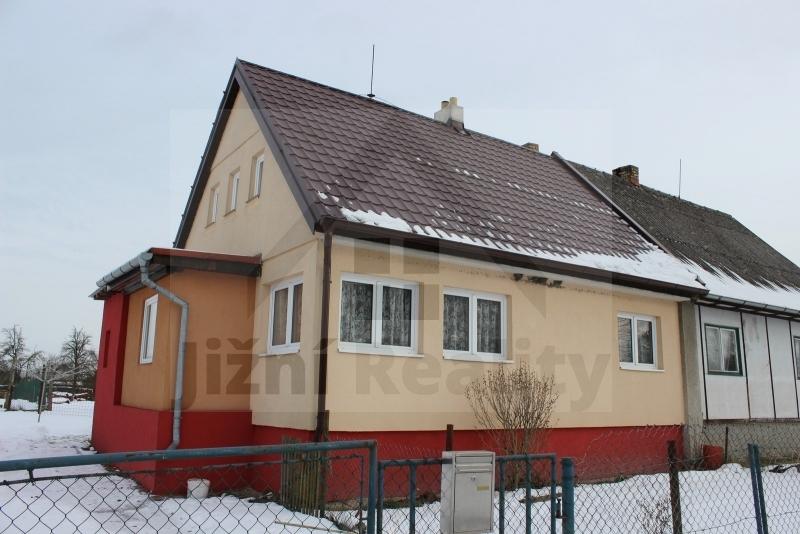 PRODÁNO – Prodej rodinného domu, 90m2, Byňov, Nové Hrady